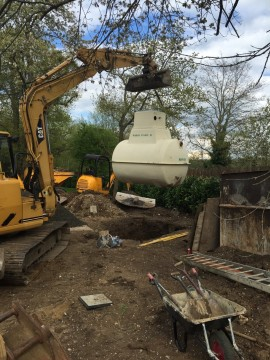Sewage Treatment Plant installation in Marlow