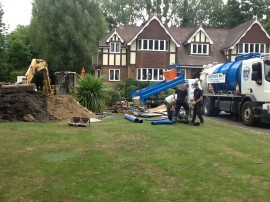 Installation of a Sewage Treatment Plant in Windsor