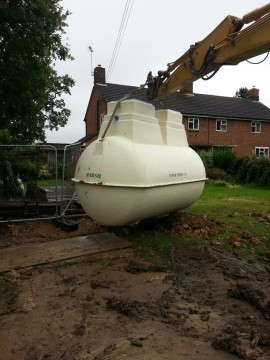 Marsh Sewage Treatment Plant Installation in Bicester