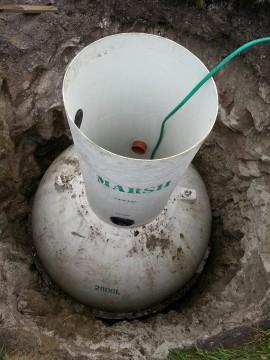 Marsh Sewage Treatment PLant Installation by Weatherheads