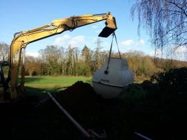 Sewage Treatment Plant Installation
