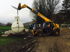 Sewage Plant Installation Yorkshire Dales