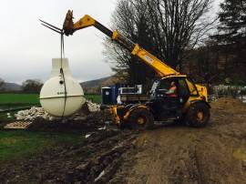Sewage Plant Installation Yorkshire Dales