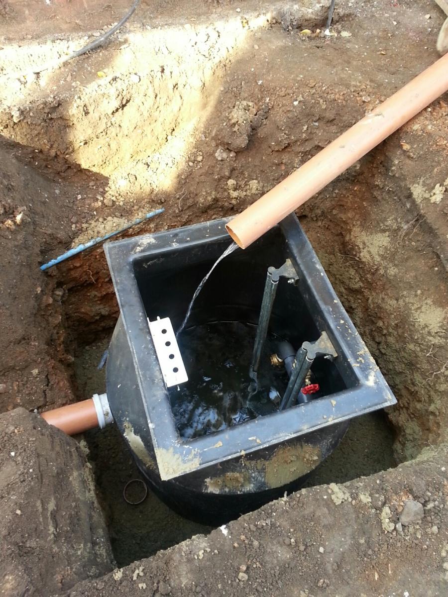 Weatherheadgroup Sewage Pump Station Installation In