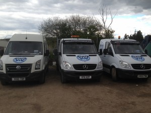 Selection Of Vans