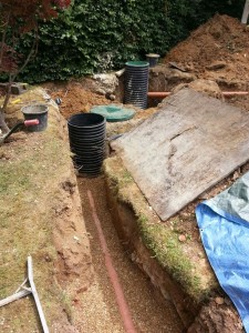 Sewage Treatment installation in Cookham Dean