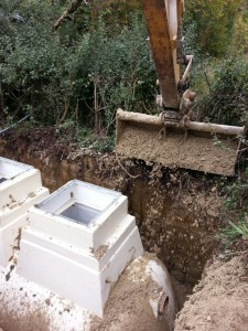 Backfilling the installation of a new Sewage Treatment Plant in Bicester