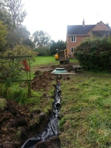 Sewage Treatment Installation in Wootton Bassett